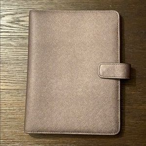 Coach Saffiano Leather Notebook Cover